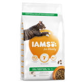 Iams Vitality Adult Cat Food With Salmon 2kg