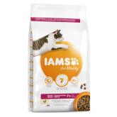 Iams Vitality Senior Cat Food With Fresh Chicken 2kg
