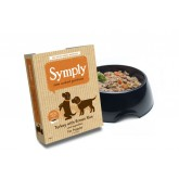 Symply Wet Turkey with Brown Rice & Veg For Puppies 395g